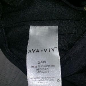Ava&Viv leopard bathing suit size 24 $20
